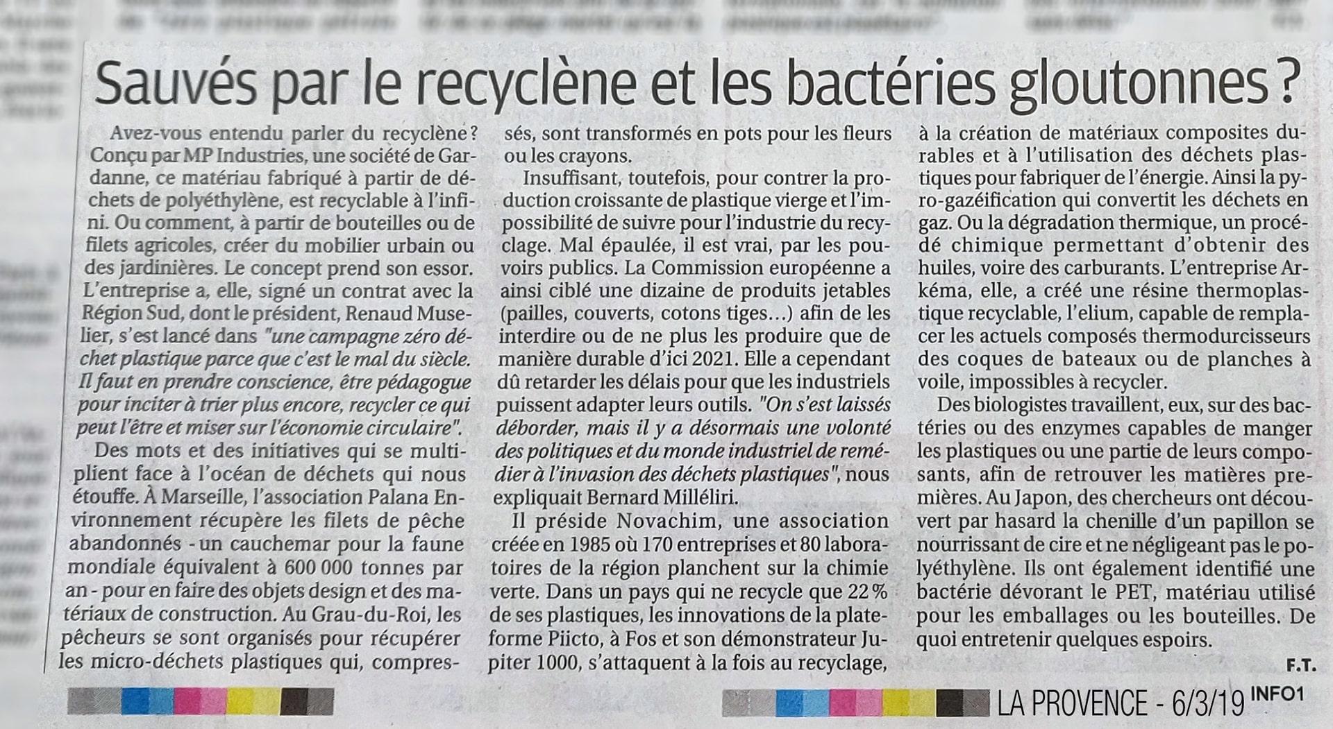 «Sauvés par le Recyclène ?»