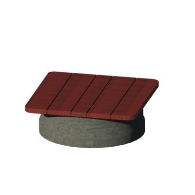 BASILE Table basse plastiq