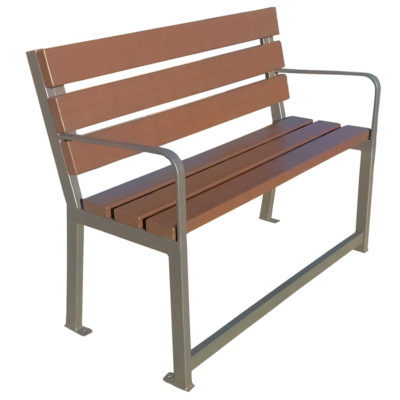 CARAT banc plastique recycle Mix Urbain