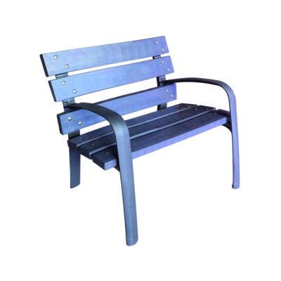 MEMPHIS chaise plastique recycle mix urbain