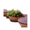 NAYA jardiniere plastique Mix Urbain
