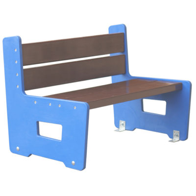 SOFA banc ecole plastique recycle Mix Urbain