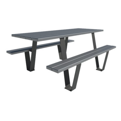 Stilla table picnic plastique recycle Mix Urbain