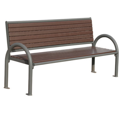 TOSCA banc plastique recycle Mix Urbain