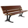 Verone banc en plastique recycle