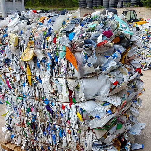 Recyclage de déchets plastiques